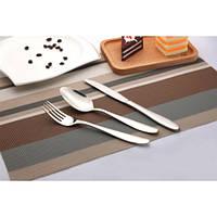 """Нож столовый  """"Гладь"""" BIKLAN (нержавеющая сталь, 6 шт. в упаковке), арт. 304104"""