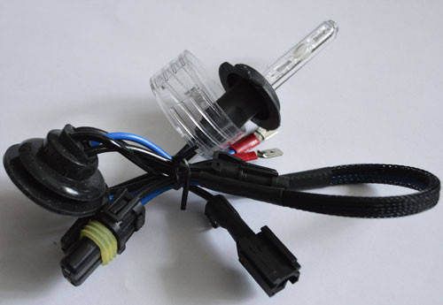 Ксеноновая лампа SL Xenon под цоколь НB3(9005)(P20d), 55Вт. 6000К.,  разъем AMP, AC, фото 2