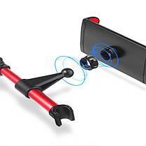 Универсальный поворот на 360 градусов Авто Держатель для держателя сидений для 4-11 дюймов Samsung S8 iPhone X Таблетка - 1TopShop, фото 2