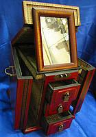 Трюмо антик (20х20х25см),оригинальные подарки,шкатулки из дерева,подарки для женщин