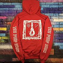 Худи Lil-Peep • Все размеры • Топ качество • Хайповый бренд • красная толстовка, фото 3
