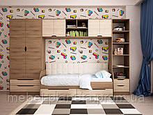 """Модульная мебель для детской комнаты """"Тетрис"""" Лион"""