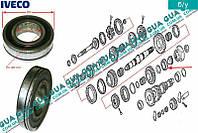 Подшипник редукционный первичного вала КПП 5-ти ступенчатой ( механической коробки переключения передач ) 8856971 Iveco / ИВЕКО DAILY II 1989-1999 /