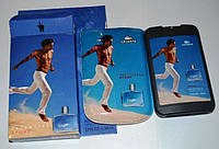 Мужские  карманные духи в стильном чехле Lacoste Essential Sport