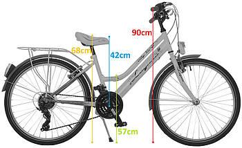 Велосипед 24 LAGUNA VS2 для девочки SHIMANO 2017, фото 3