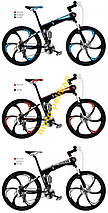 Велосипед складной MTB 26 SHIMANO литые ДИСКИ, фото 3