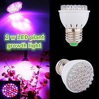2W E27 роста сада завод LED лампы парниковых завод рассады свет 1TopShop