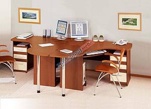 Письмовий / компьюторный кутовий стіл -Готовий комплект СК-3727