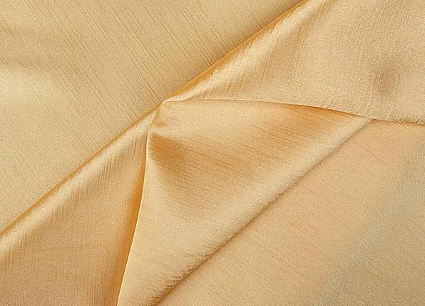 Ткань Шанзализе (селеста) Светлое Золото, фото 2