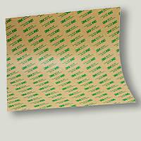 Двусторонняя клейкая лента 3M 7952 MPL(610 мм. х 914 мм. х  0,05 мм). Скотч в листах.Тонкий.7952, фото 1