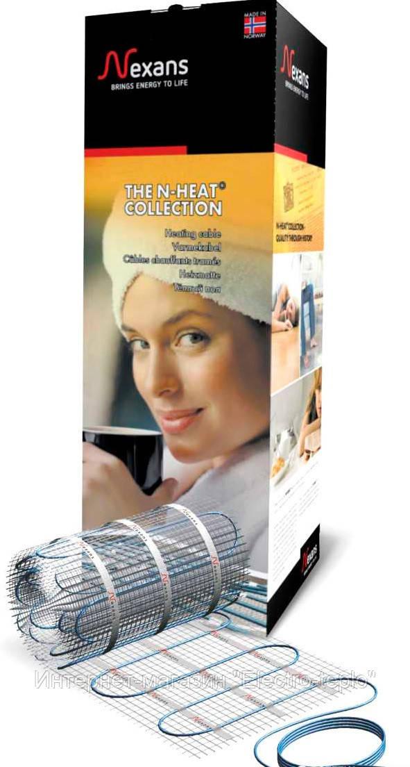 Теплый пол Nexans Millimat/150 Двужильный нагревательный мат 150Вт 1,0 м2