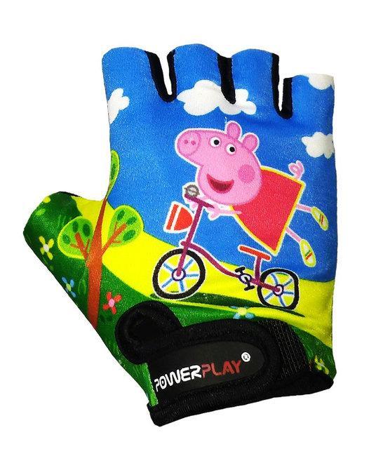 Детские велоперчатки PowerPlay 5473 Peppa Pig
