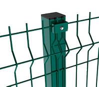 Столб заборный СІТКА ЗАХІД высота 2.5м размер 60х40мм ф1.5 (2065)