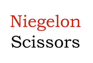 Парикмехерские ножницы Niegelon