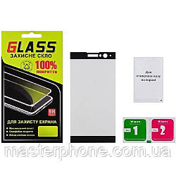 Защитное стекло для SONY Xperia XA2 (0.3 мм, 2.5D, Full Screen, чёрное)
