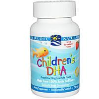 Рыбий жир для детей, Nordic Naturals, 250 мг, 180 желейных капсул