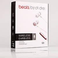 Беспроводные наушники с аккумулятором BLUETOOTH  beats by dr. dre.