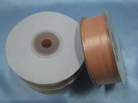 Лента атлас 3 мм, персиковый