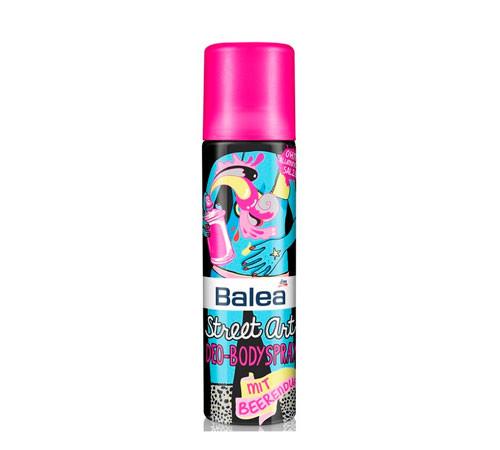 Дезодорант спрей Balea Street Art 150 ml с ягодным ароматом