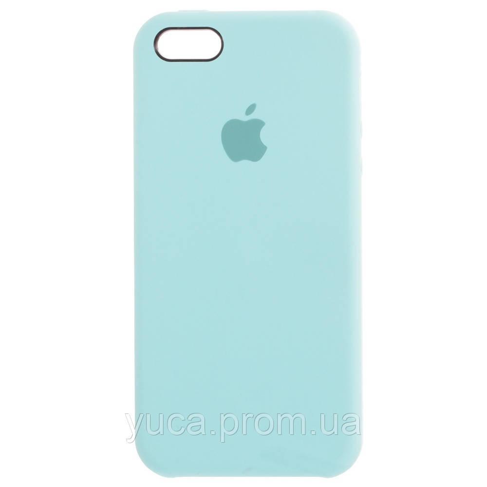 Чехол силиконовый для APPLE iPhone 5/5S/5C/5SE 21 бирюзовый копия