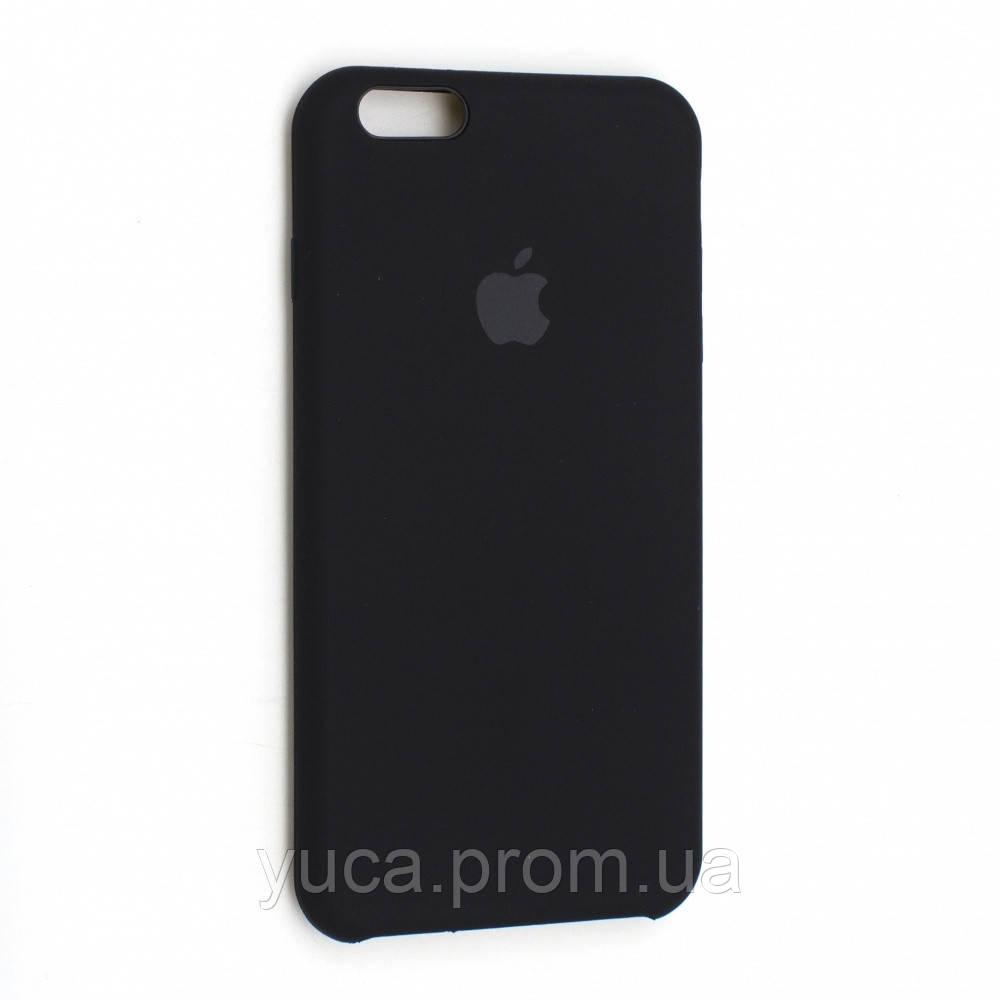 Чехол силиконовый для APPLE iPhone 6 Plus 18 чёрный копия
