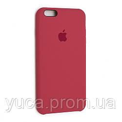 Чехол силиконовый для APPLE iPhone 6 Plus 25 камелия тёмно коралловый копия