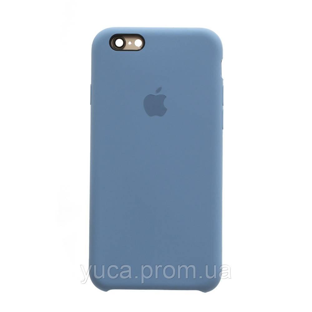 Чехол силиконовый для APPLE iPhone 6G 24, бледно-синий копия