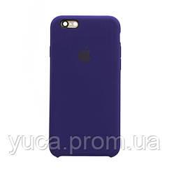 Чехол силиконовый для APPLE iPhone 6G 34 фиолетовый копия