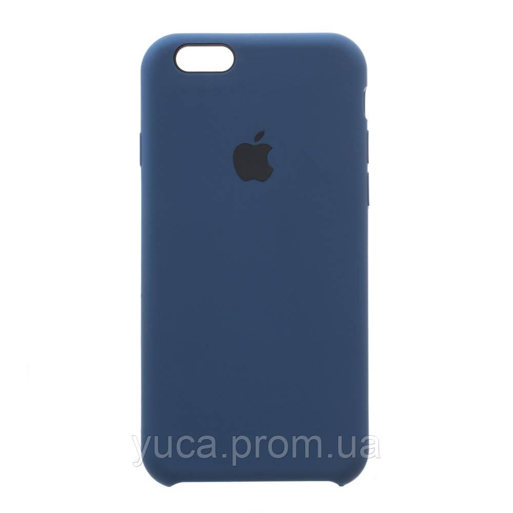 Чехол силиконовый для APPLE iPhone 6G 36, тёмно-синий копия