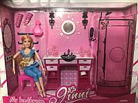 Набір лялька з ванною кімнатою 83271