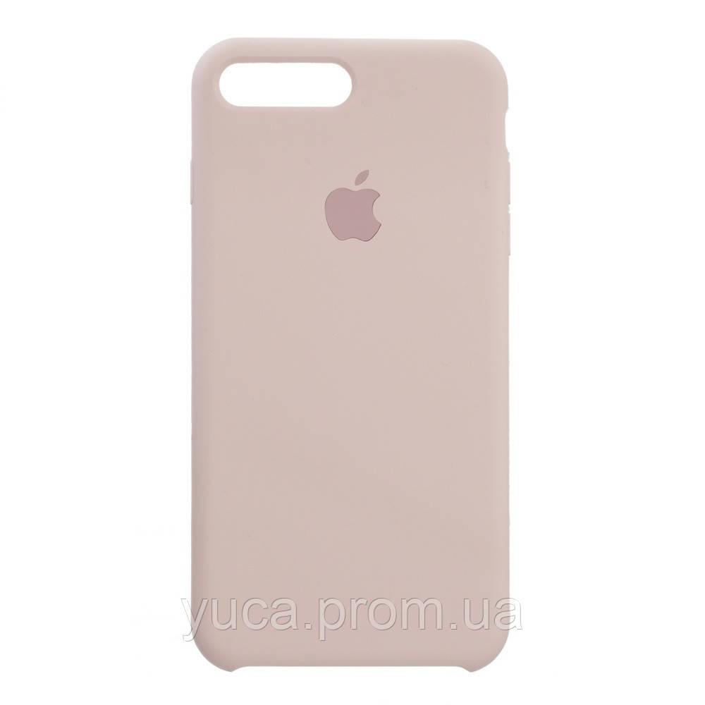 Чехол силиконовый для APPLE iPhone 7 Plus 19 бледно розовый копия