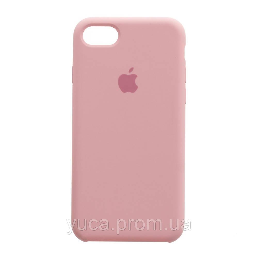 Чехол силиконовый для APPLE iPhone 7G 12 светло розовый копия