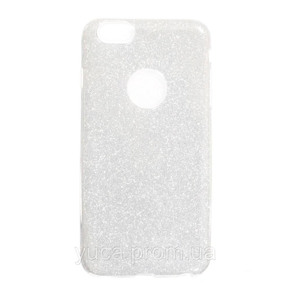 Чехол силиконовый для APPLE Iphone 6 Plus Twins серый