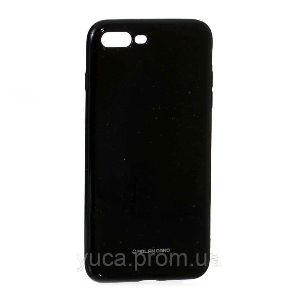 Чехол силиконовый для APPLE Iphone 7 Plus Molan Shining 07 чёрный