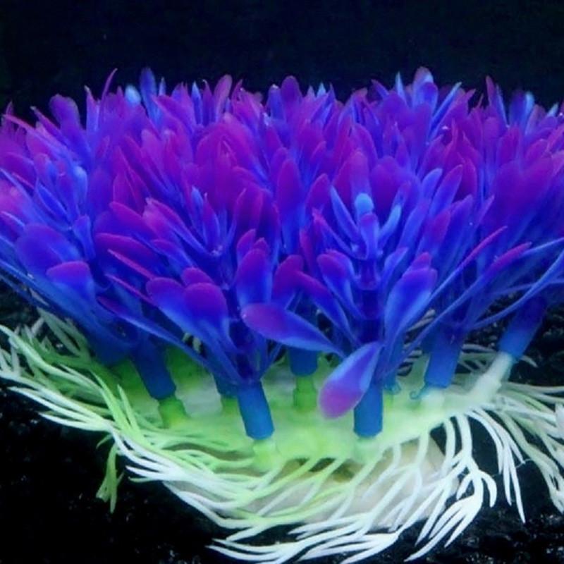 Искусственный пластик Растение Водный резервуар для рыбы Аквариум Украшения для орнаментов New 1TopShop
