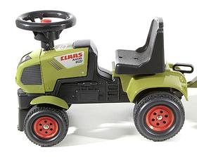 FALK Трактор ходунки Claas с прицепом