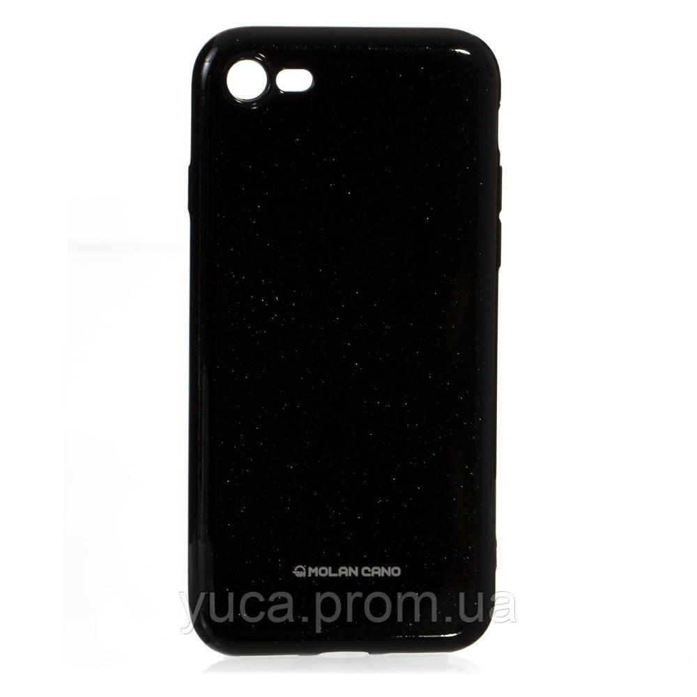 Чехол силиконовый для APPLE iPhone 7G Molan Shining 07 чёрный