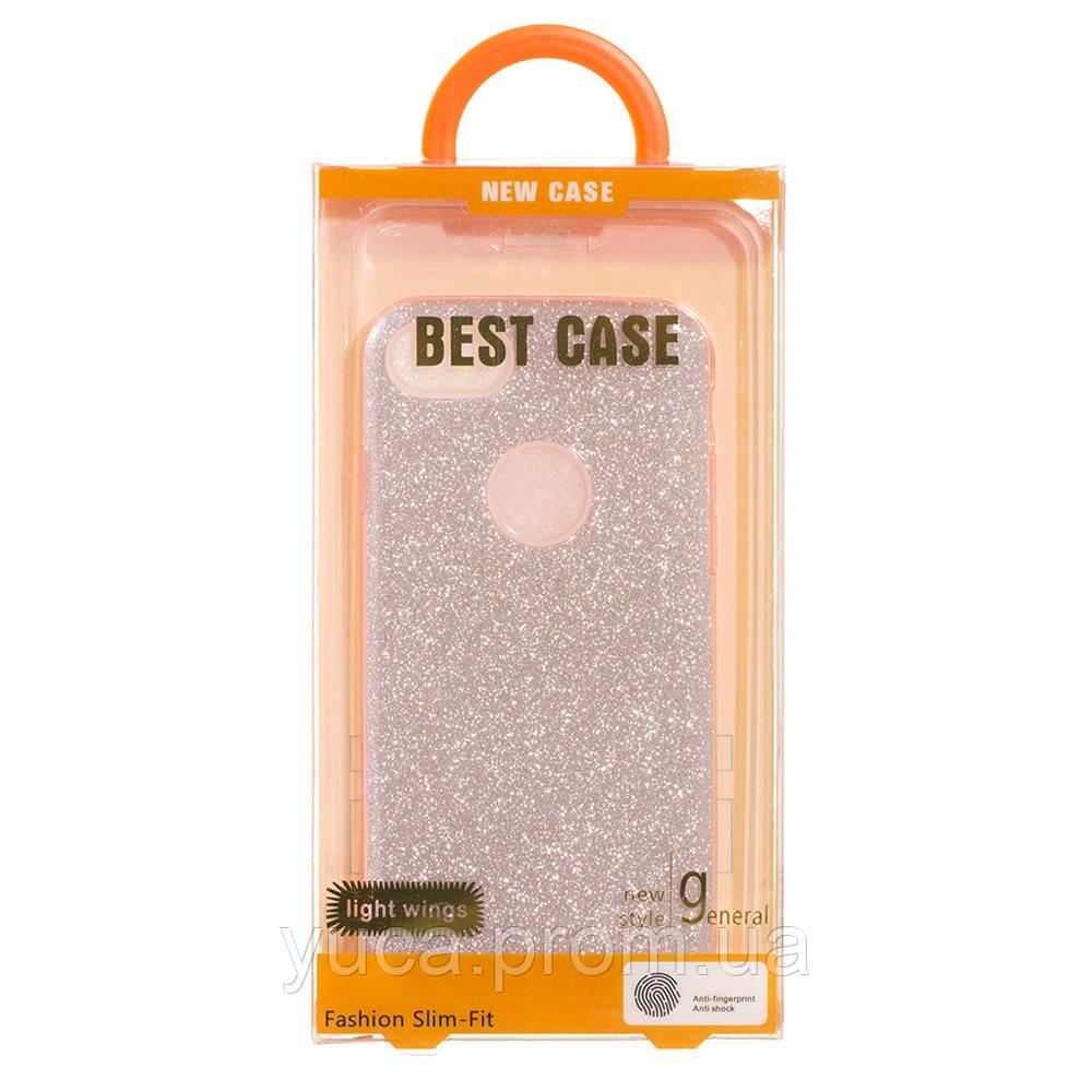 Чехол силиконовый для APPLE Iphone 7G Twins розовый