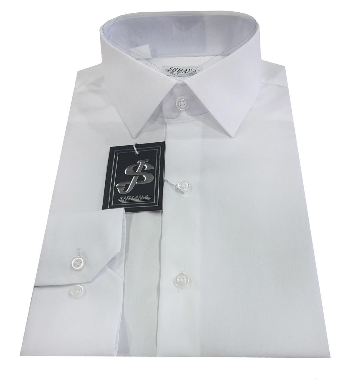 Рубашка мужская белая №10-12к.- Non Iron