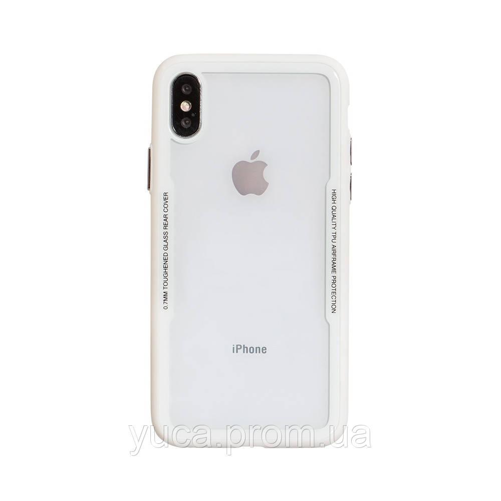 Чехол силиконовый для APPLE Iphone X Tkoj Fashion белый