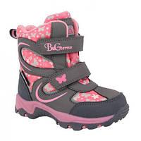 Детские термо ботинки зимние B&G termo (Би Джи) р. 23-28 модель 191-1200