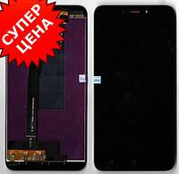 Дисплей (экран) + сенсор (тачскрин) Redmi 4X Чёрный