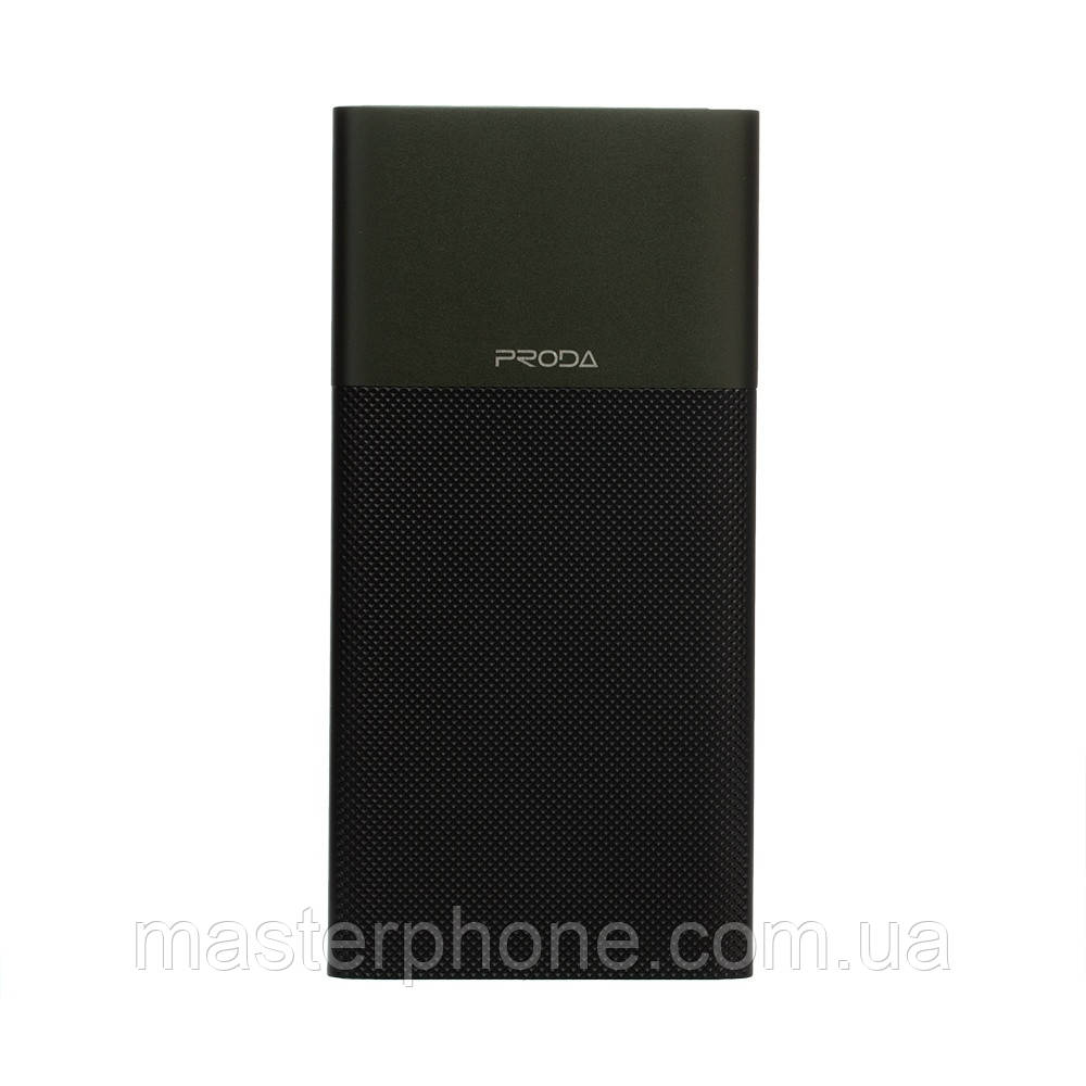 Power Bank Remax 10000 mAh  Biaphone PPP-28 Чёрно-Зелёный)