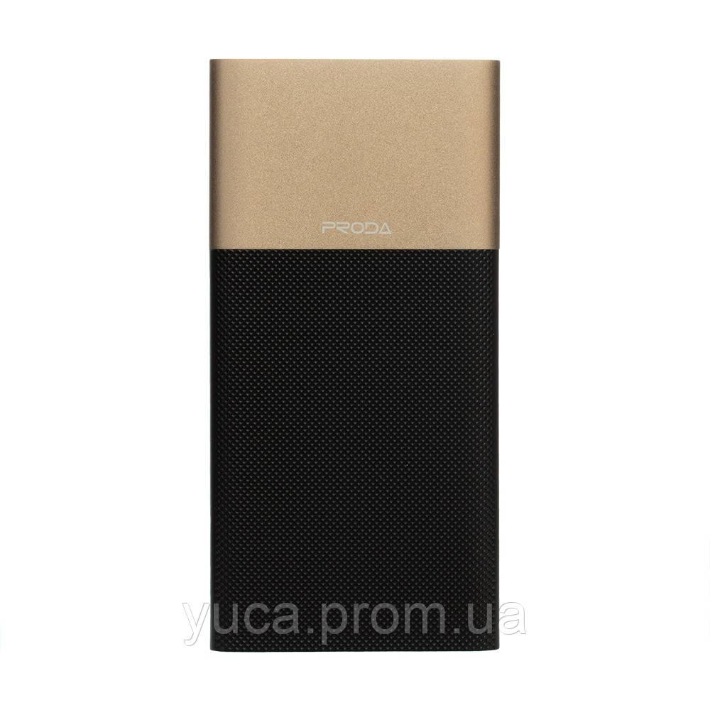 Power Bank Remax 10000 mAh  Biaphone PPP-28 Чёрно-Золотой)