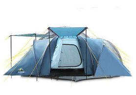 Туристическая палатка  ICEBERG REFUGE 6 ДЛЯ 6 ЧЕЛОВЕК 3 КОМНАТЫ