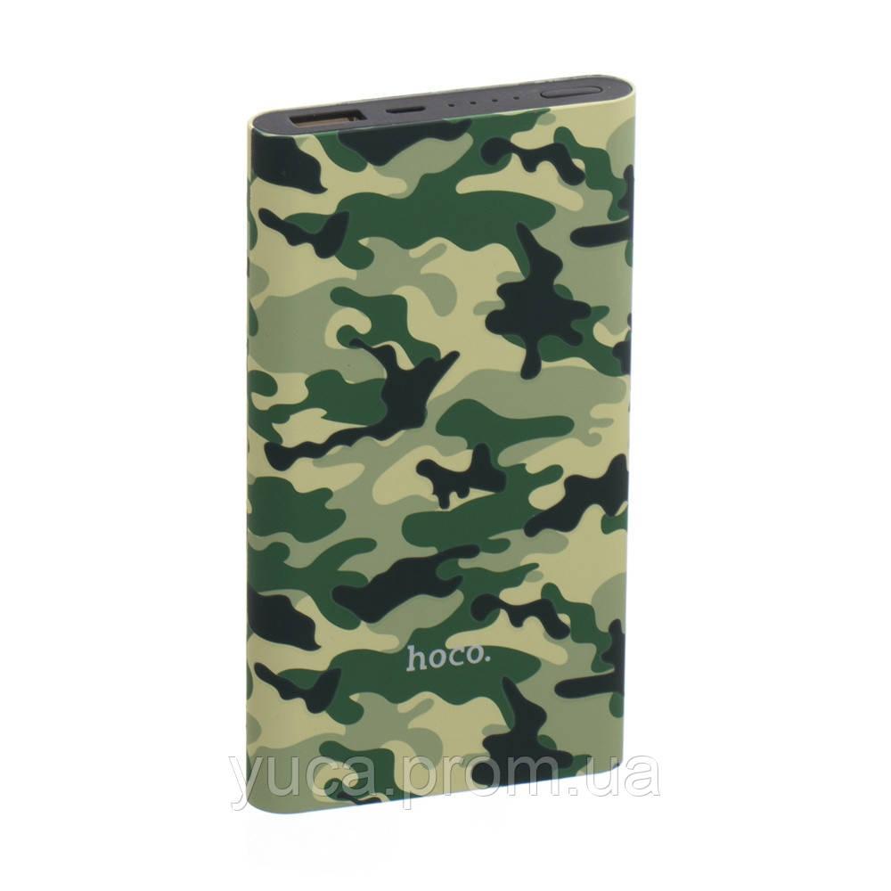 Power Bank Hoco 10000 mAh Camouflage J9 зелёный