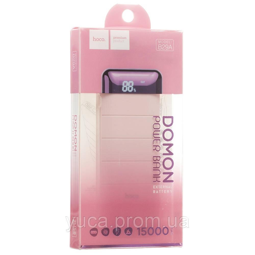 Power Bank Hoco 15000 mAh B29A розовый