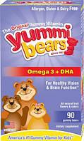Рыбий жир для детей, Омега-3, Hero Nutritional, 90 желейных конфет