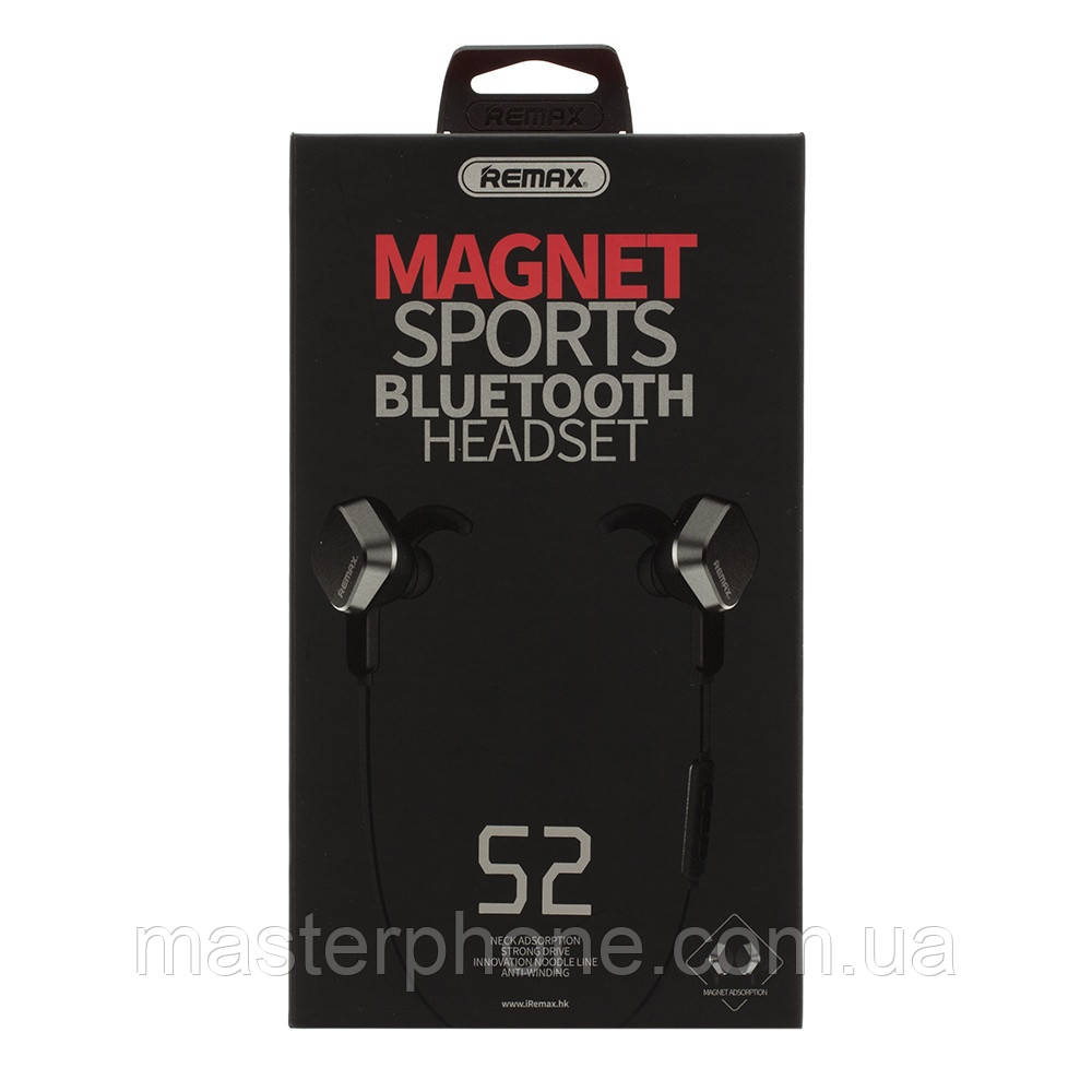 Гарнитура bluetooth стерео Remax RB-S2 чёрный