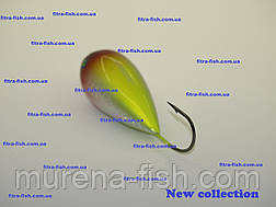 Воблер German Egg bait- хорватское яйцо C111 55mm (action 0m+) 13g Bumble-lure  Popper Поппер, фото 3